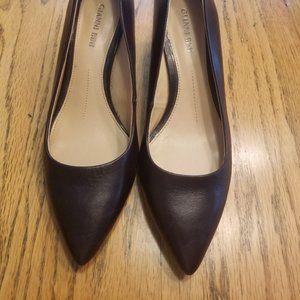 Gianni Bini Chocolate Brown heels size 7 M